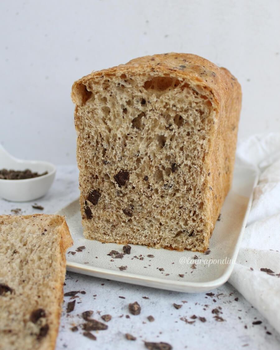 Pan brioche cioccolato lievito madre