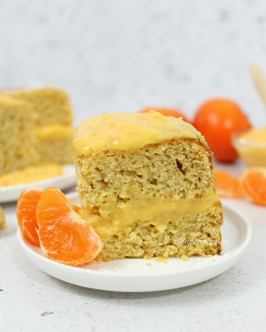 Torta mandarino curd