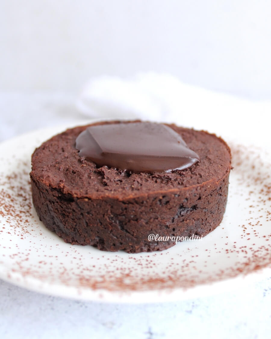 Fondente al cioccolato ricetta vegan