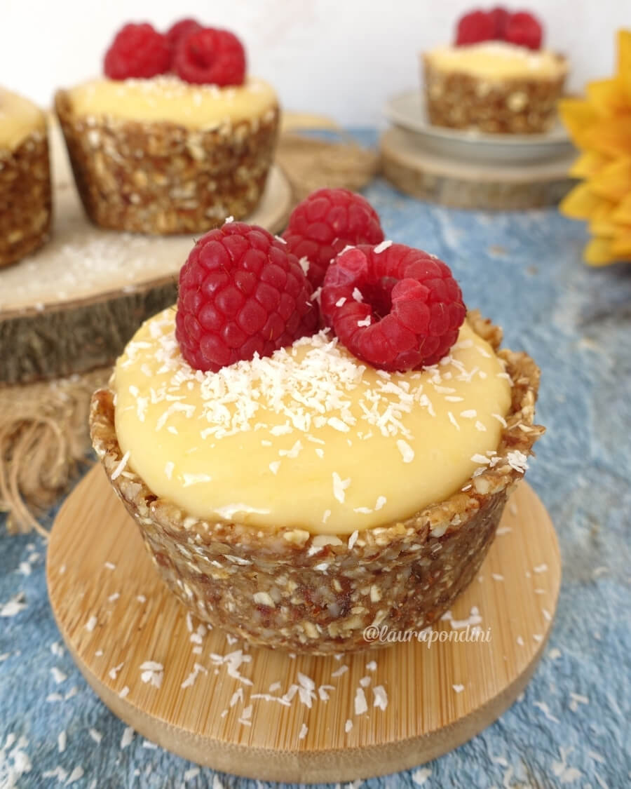 Lemon tart senza burro