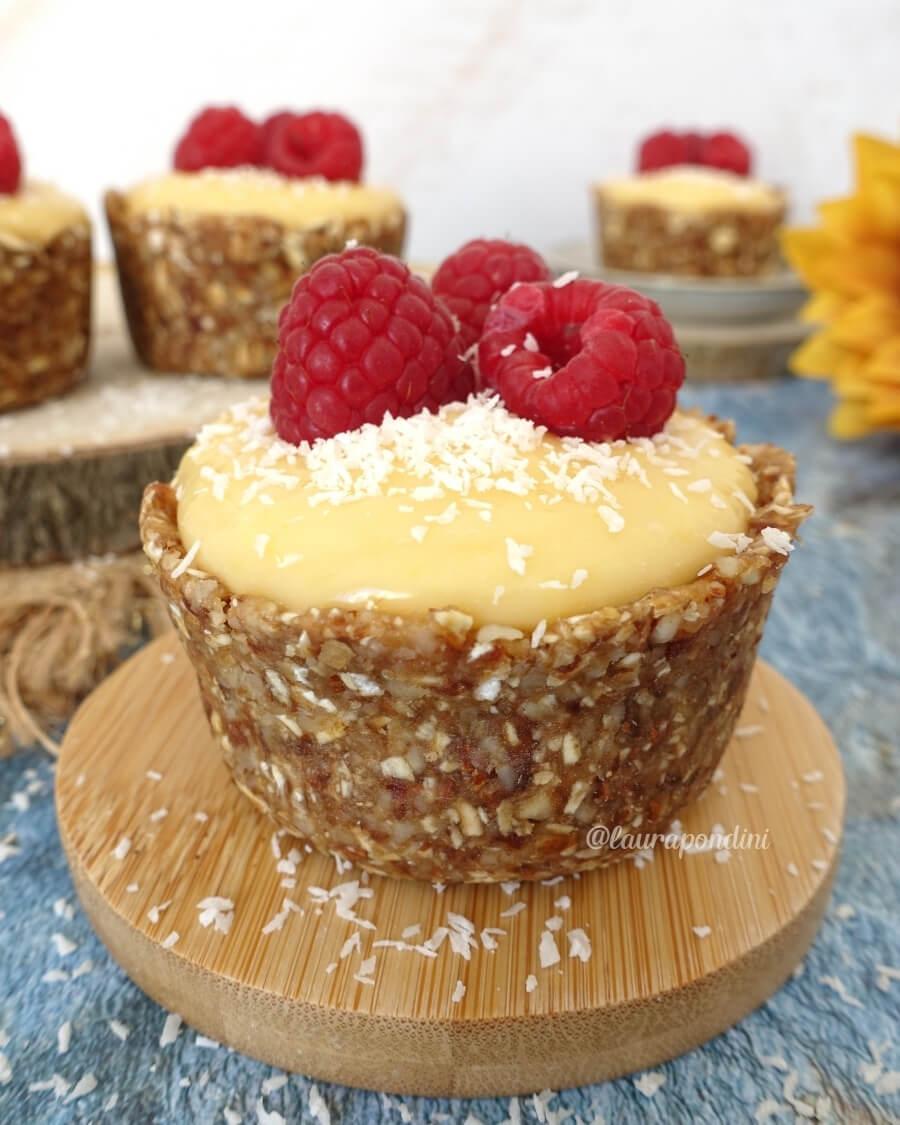 Lemon tart senza cottura