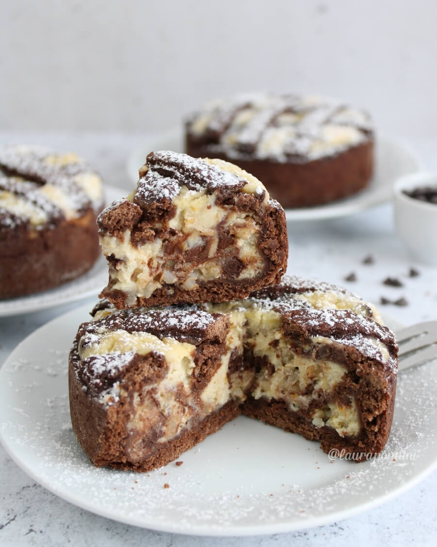 Pastiera napoletana cioccolato light monoporzione