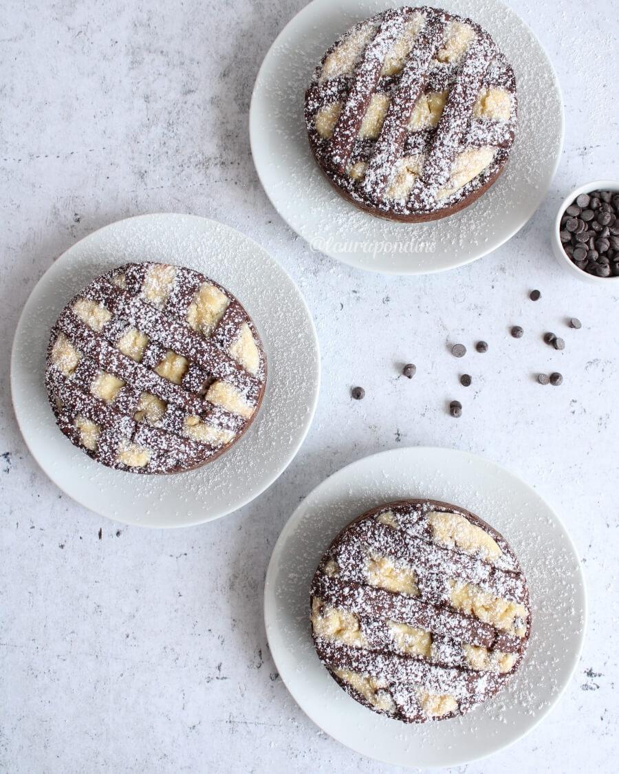 Pastiera napoletana cioccolato senza burro