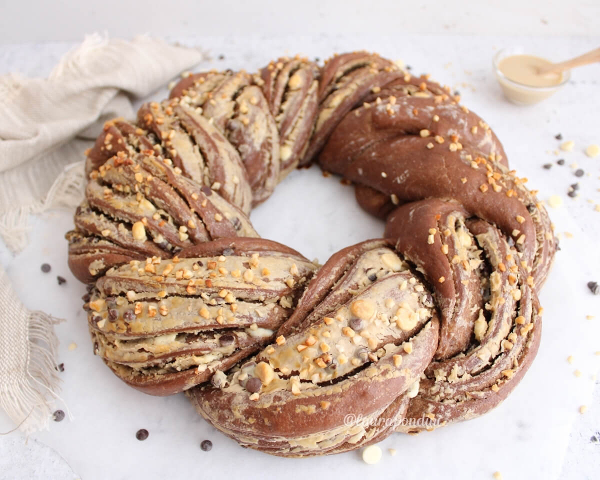 Torta Angelica al cacao e caffè: la Ricetta con lievito madre