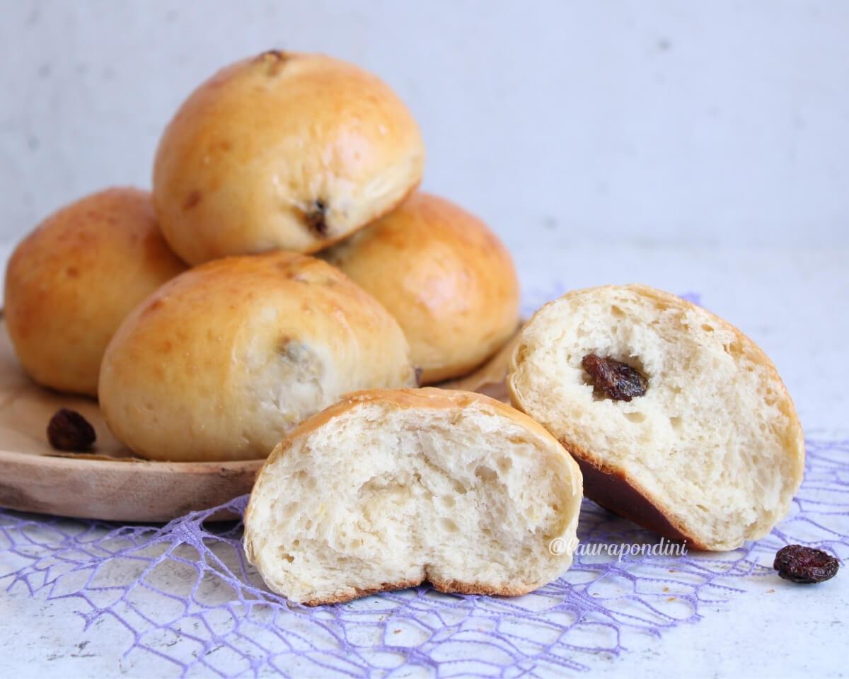 Panini dolci ai mirtilli rossi: fit, morbidissimi e senza burro