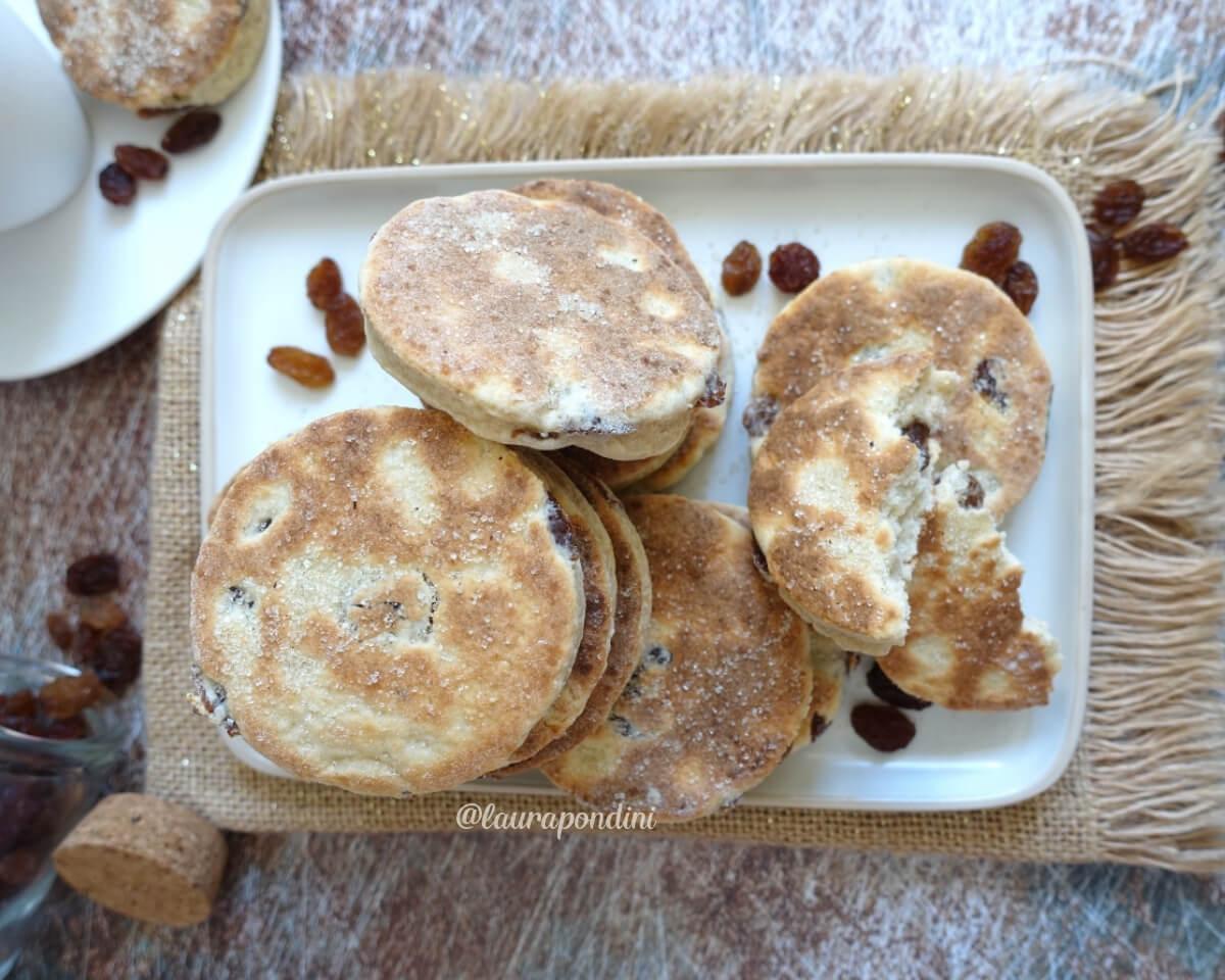 Welsh cakes: la Ricetta dei biscotti light cotti in padella