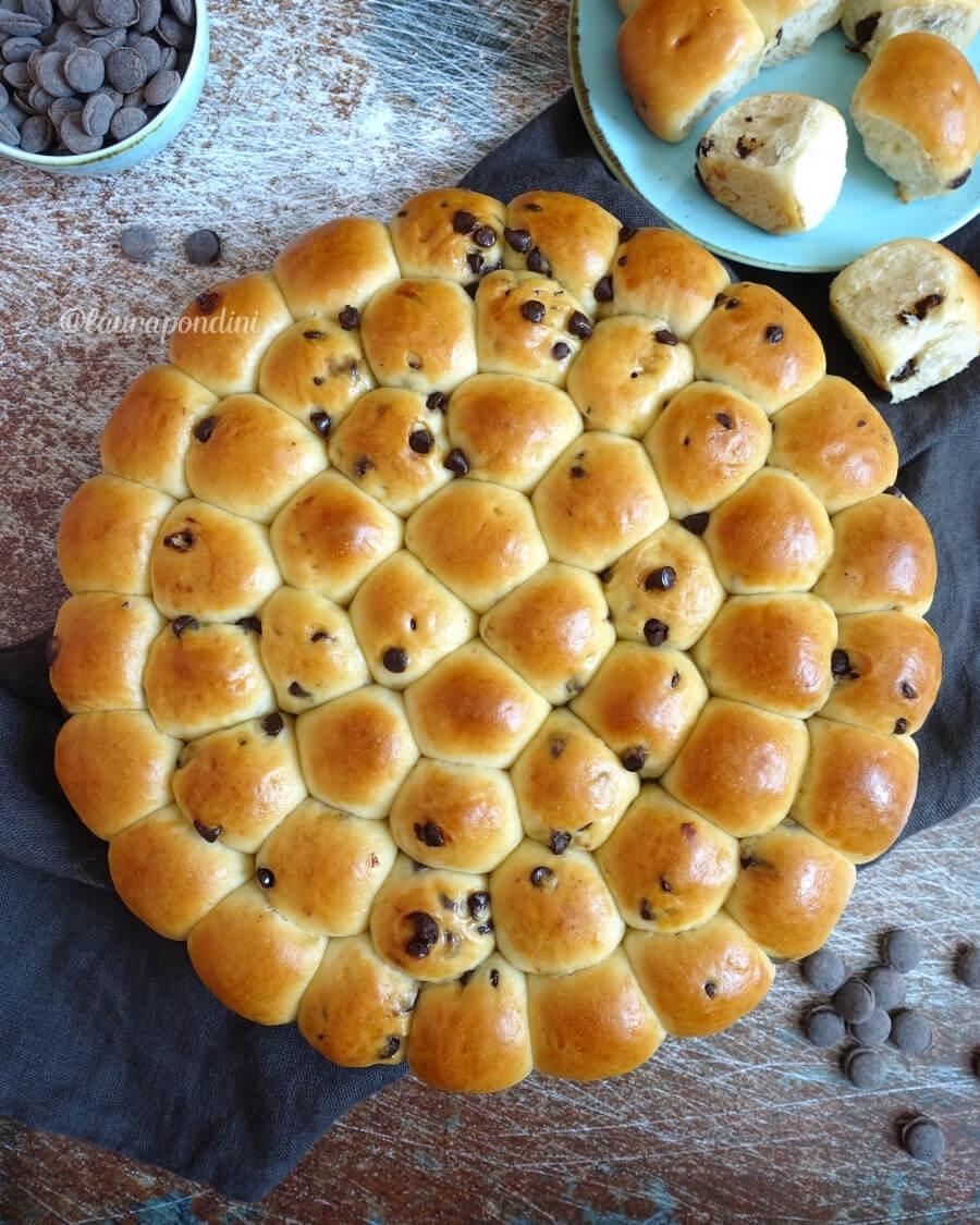 Bubble bread ricetta light