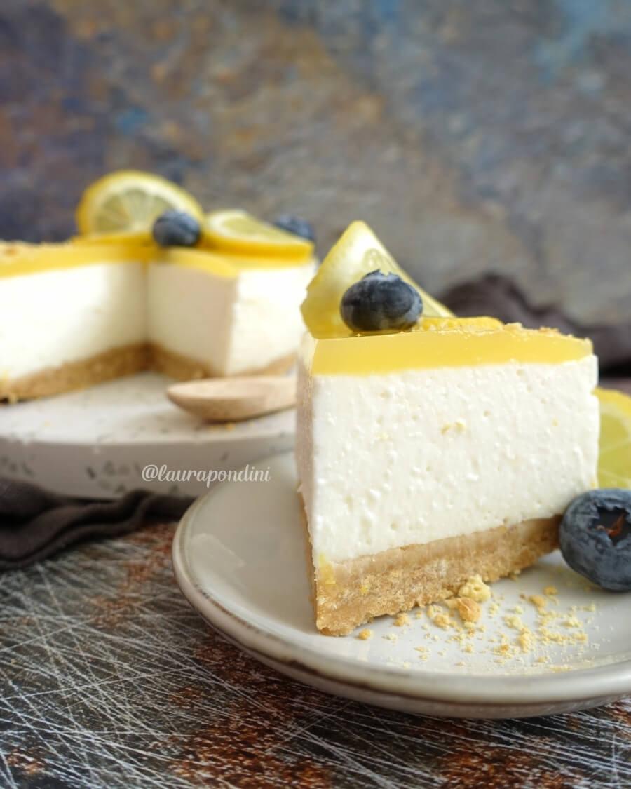 Cheesecake limone ricetta raw light