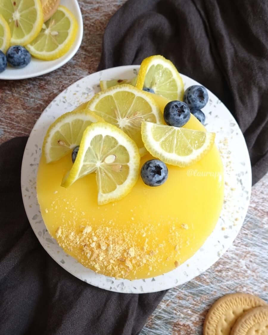 Cheesecake limone senza cottura